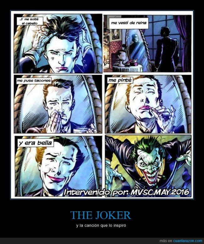alfred,gloria trevi,joker,wtf