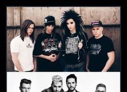 Enlace a Tokio Hotel antes y después :O