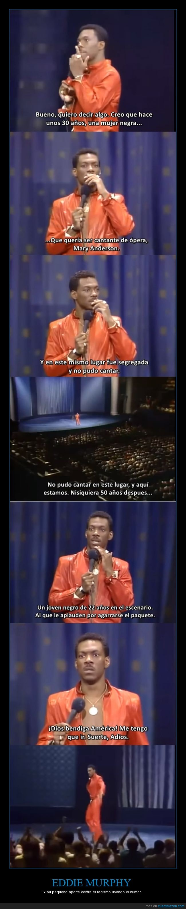1982,america,delirious,eddie murphy,humor,Mary Anderson,Michael Jackson,racismo,stand up comedy