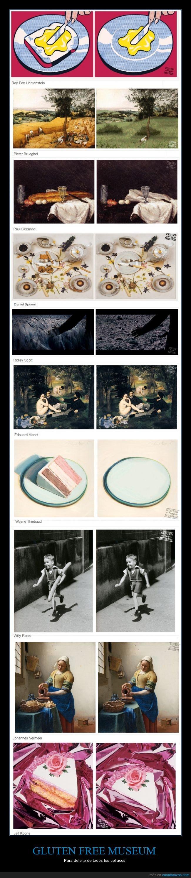 artistas,celiacos,Gluten,museo,pan,sin