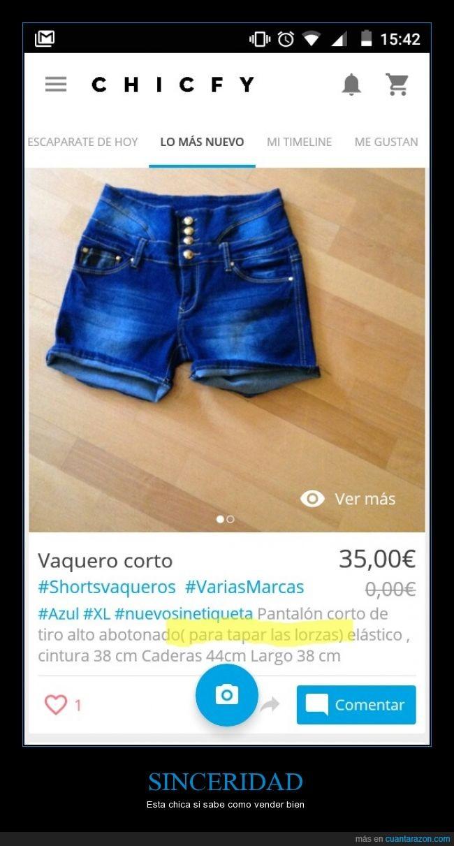 chicfy,Compra,comprar,internet,lorzas,pantalones,sinceridad,tapar,vender