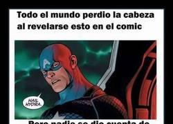 Enlace a Lo del Capitán América ya se veía venir