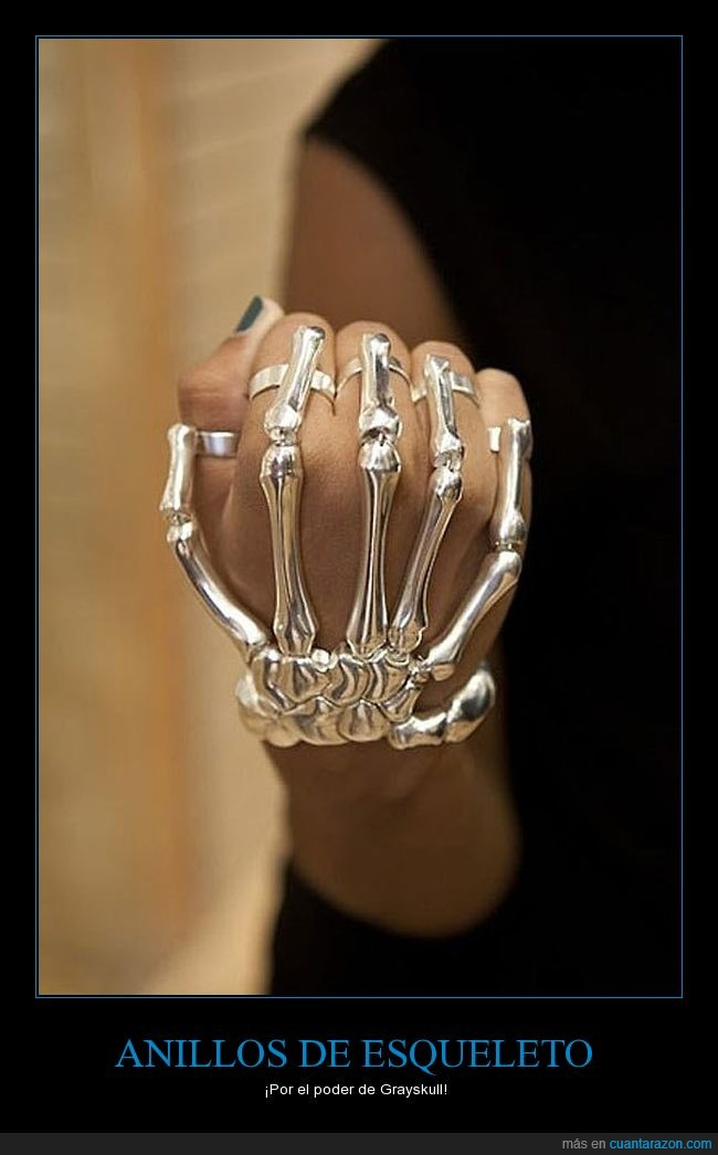 anillo,esqueleto,molar,poder