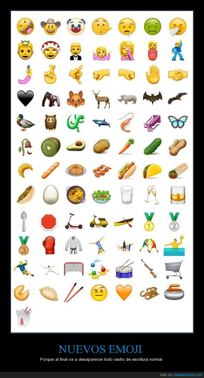 en junio,nuevos,nuevos emoji
