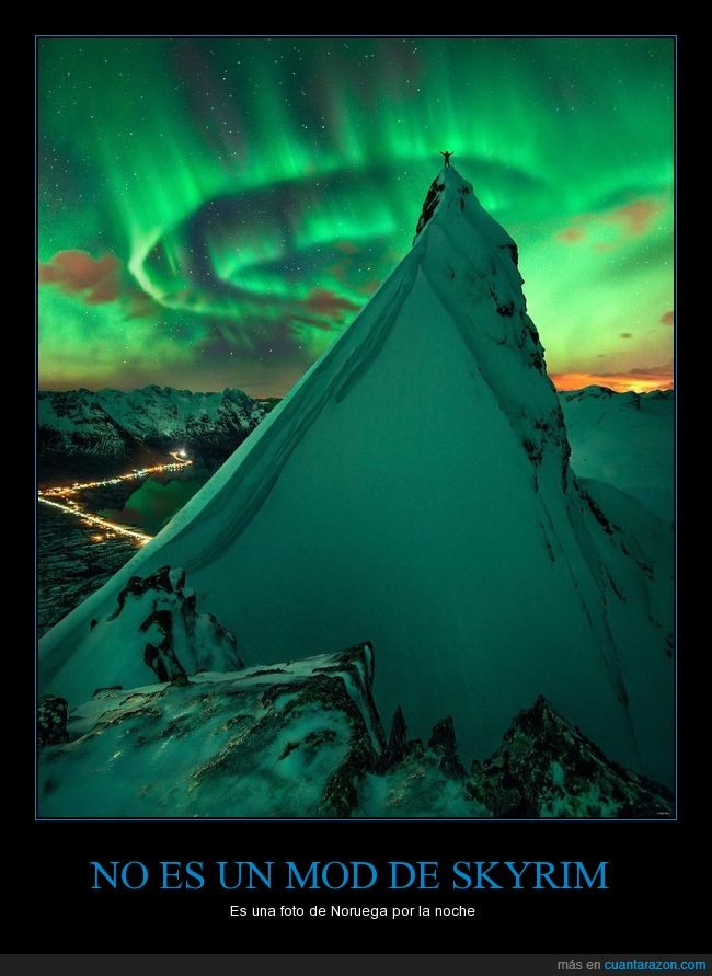 aurora boreal,espectacular,fotografía,noruega,paisaje