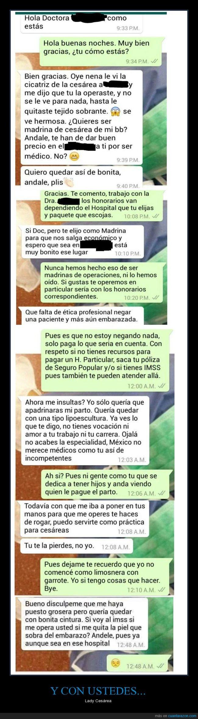Cesárea,Fail,México