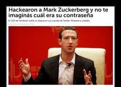 Enlace a La ridícula contraseña de Mark Zuckerberg