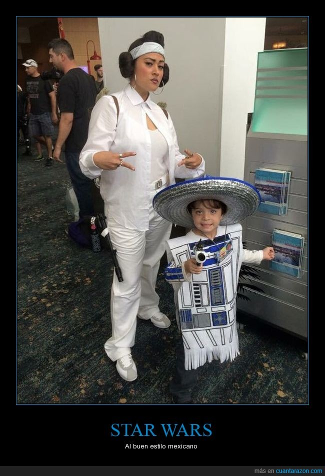 leia,mexico,r2d2,star wars