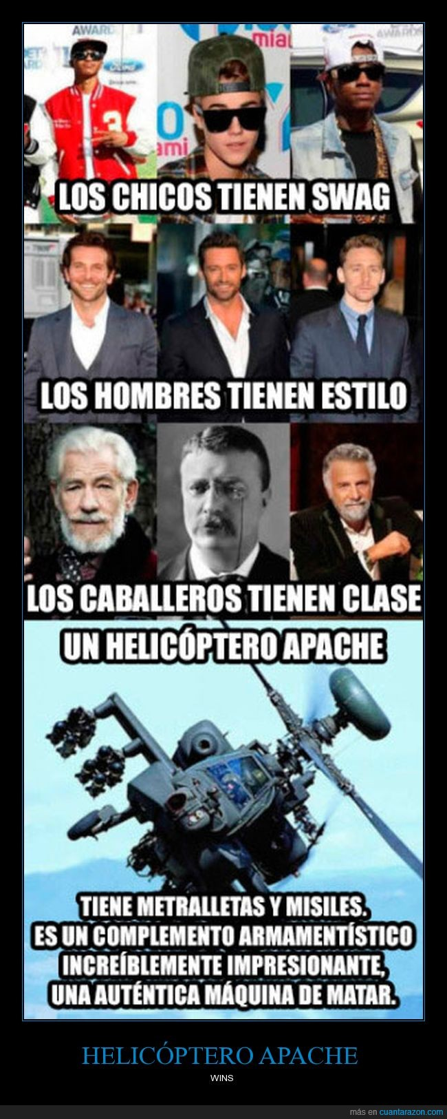 clase,estilo,helicóptero apache,swag