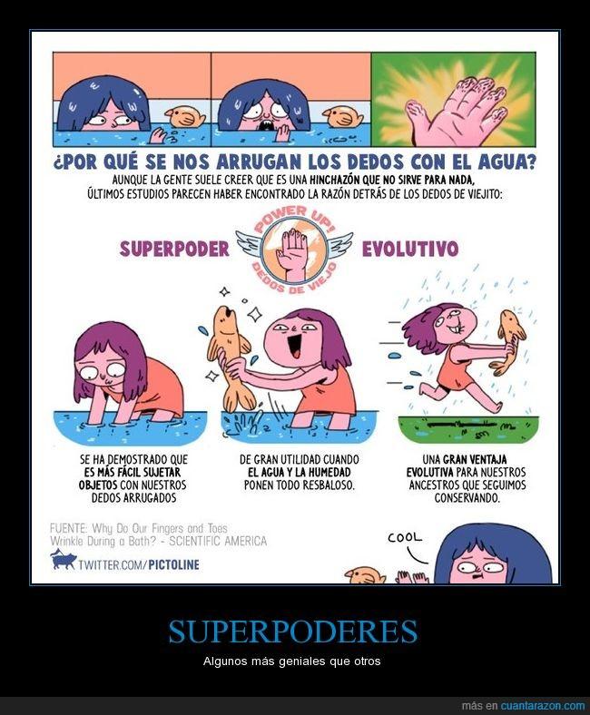 dedos de anciano,dedos de viejo,evolución,pictoline,poder inútil,superpoder