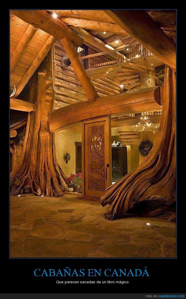 cabaña,canada,libro,magico