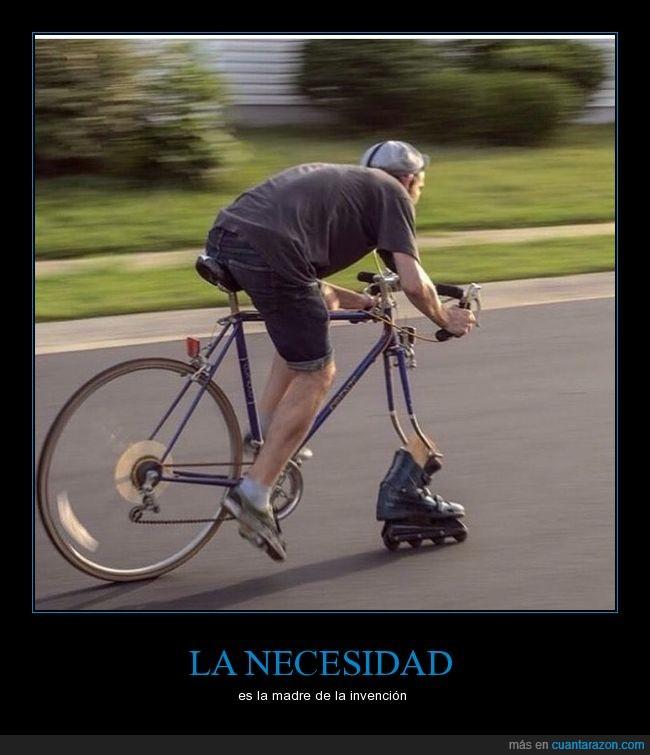 bicicleta,ciclismo,patín