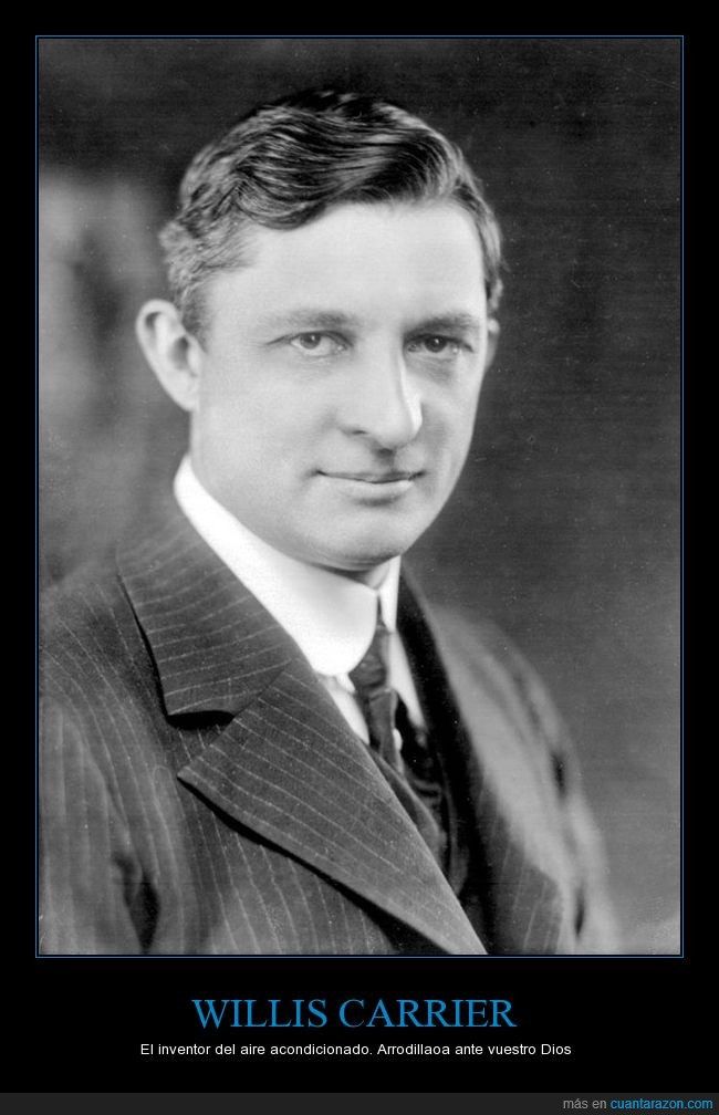 aire acondicionado,clima,Willis Carrier