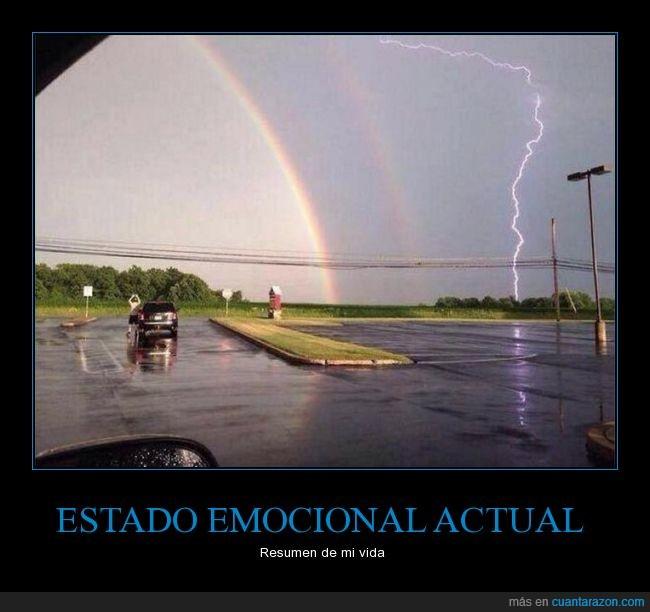 arcoiris,caos,locura,rayo