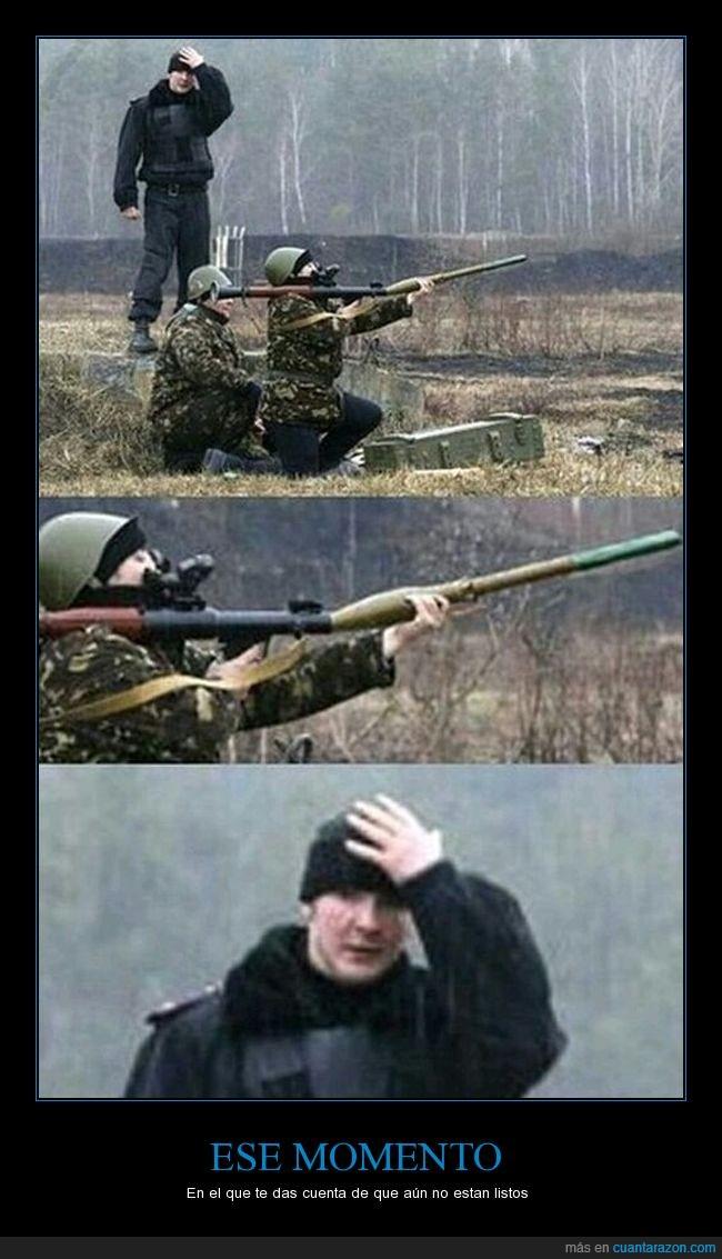 disparos,listos,soldados,torpes