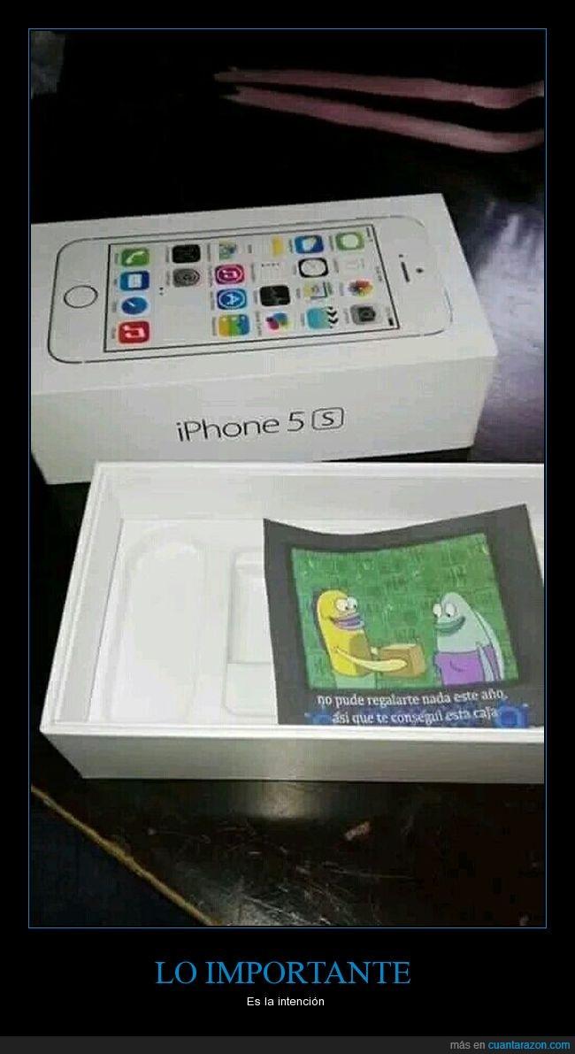 caja,iphone,regalo