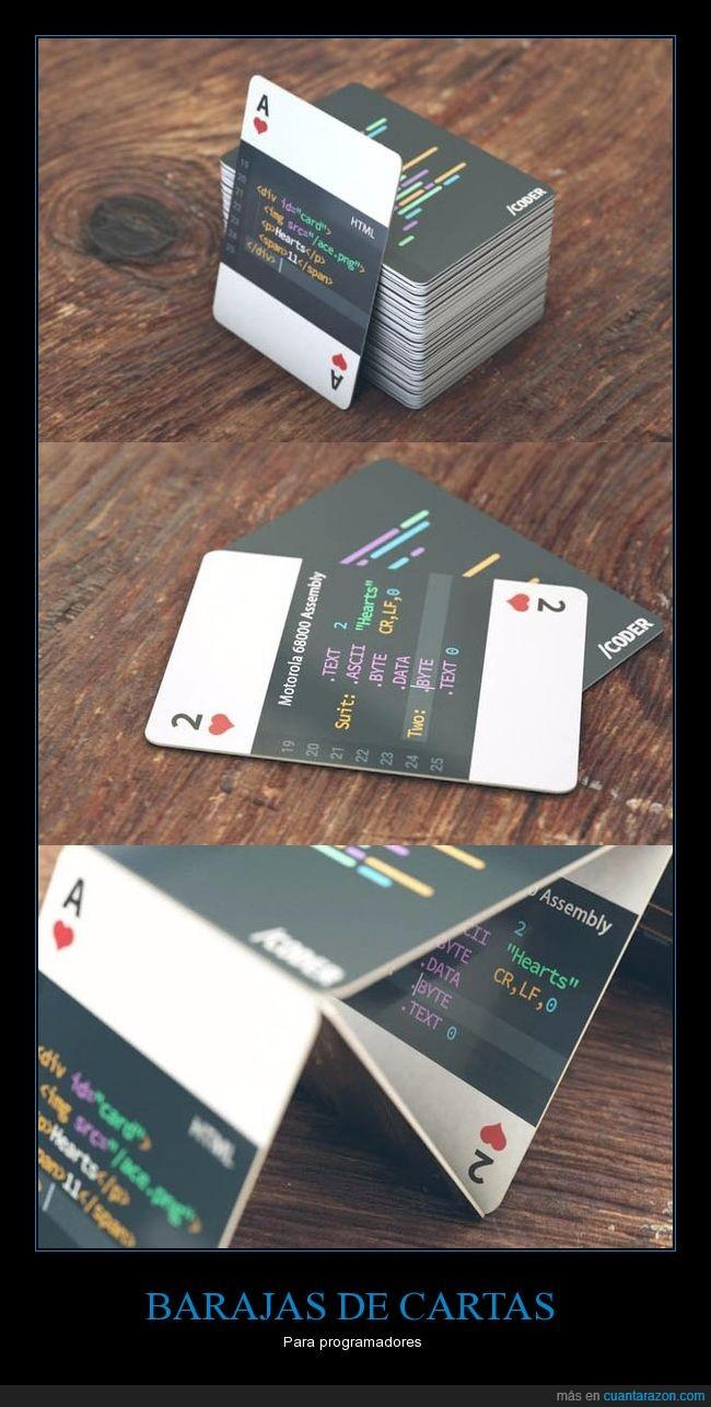 baraja,cartas,programadores
