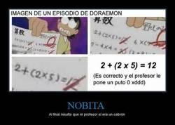 Enlace a No todo era culpa de Nobita