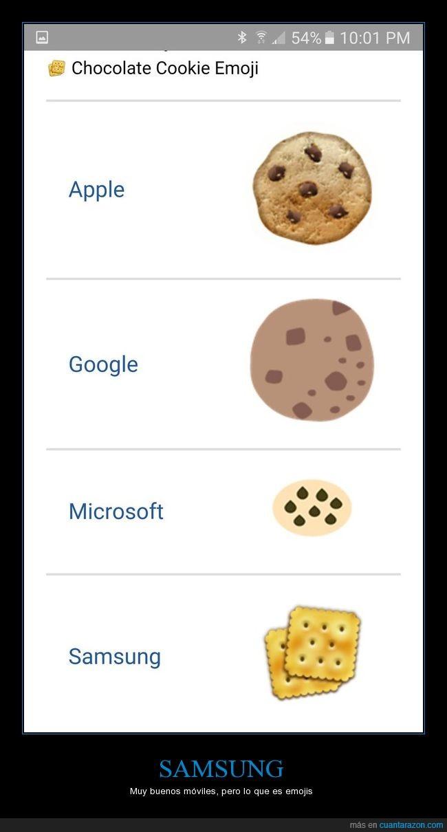 cookies,dibujo,emoji,pésimo,samsung