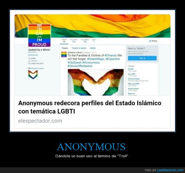 Actualidad,Anonymous,Orgullo Gay,Troll