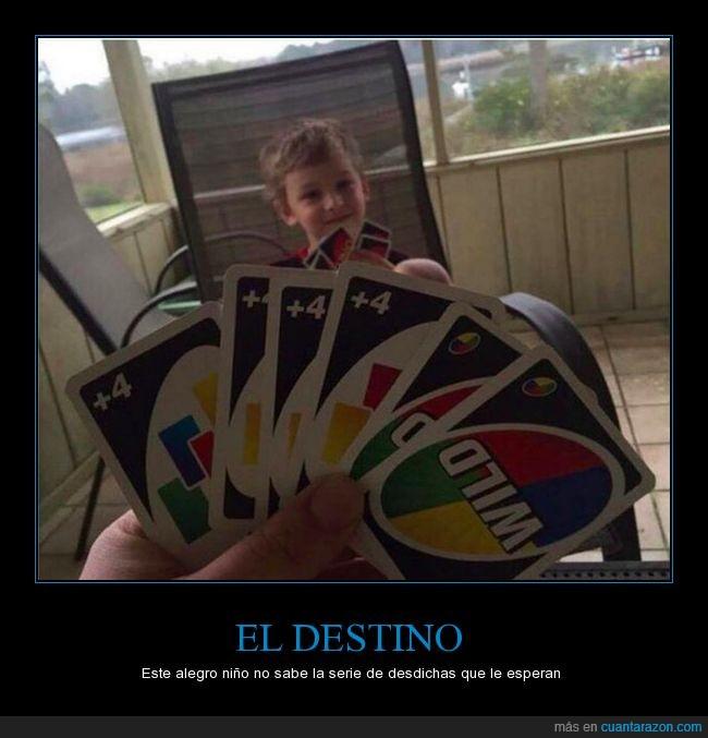 cartas,infancia,juego,niño,uno