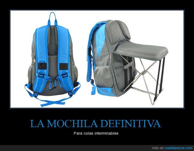 camping,mochila,silla