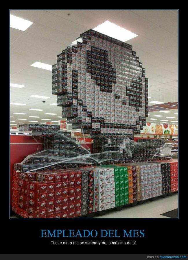 bebidas,display,latas,sodas,supermercado,target,tienda