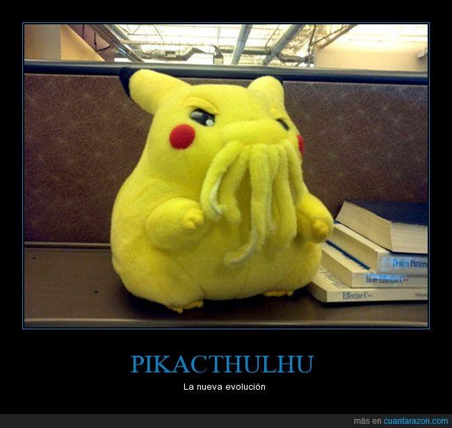 Cthulhu,peluche,pikachu,Pikacthulhu