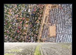 Enlace a Líneas que dividen los ricos de los pobres captadas con Drones [11 imágenes]
