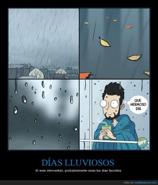 día,hermoso,introvertido,lluvia