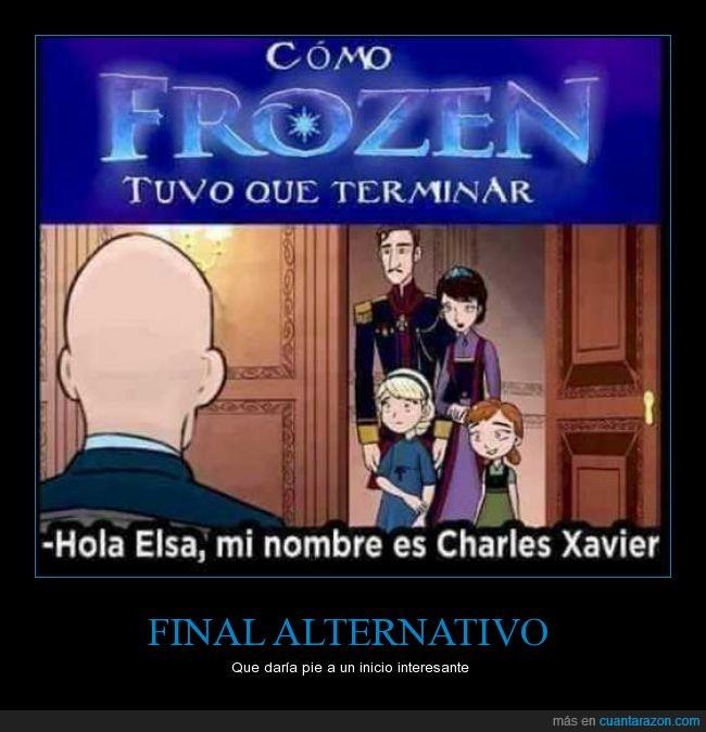 elsa,final,Frozen,poderes,x-men