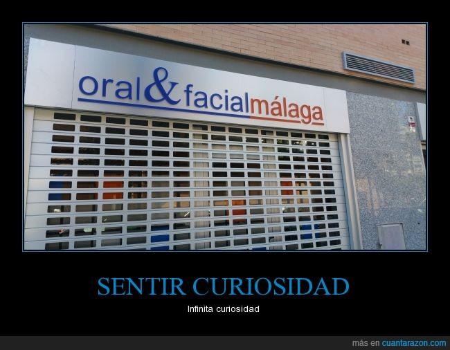 cartel,facial,málaga,Oral
