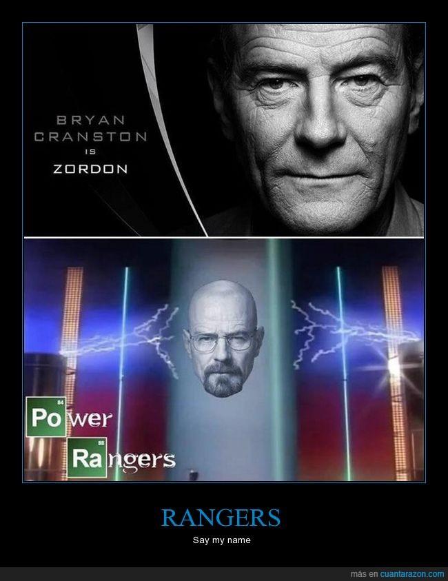 breaking bad,bryan cranston,power rangers,zordon