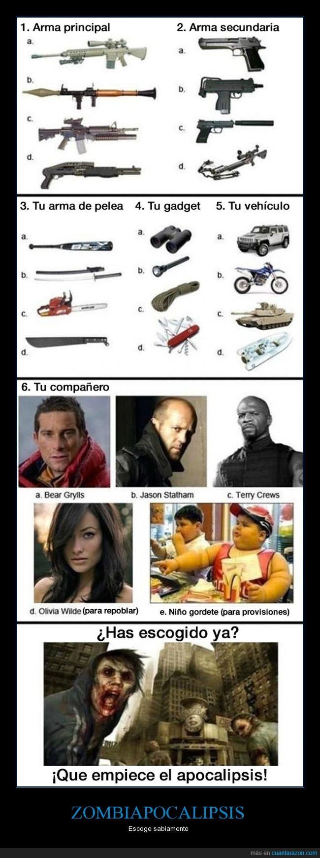 apocalipsis,armas,supervivencia,zombies