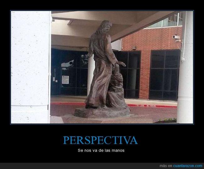 escultura,estatua,perspectiva