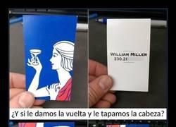 Enlace a Esta tarjeta de visita tiene un mensaje escondido que no verás a la primera