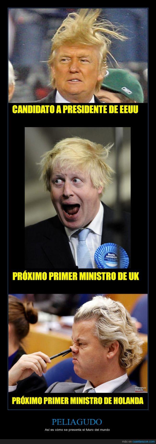 pelajos,pelos,política,primer ministro,trump