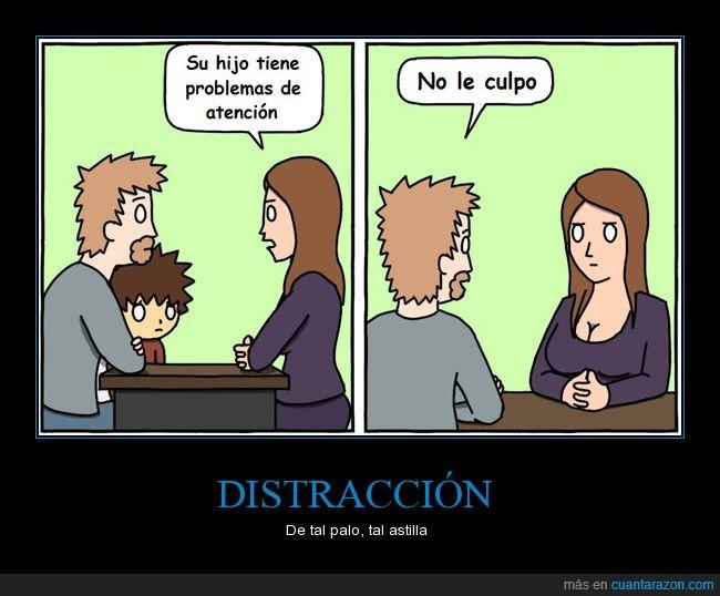 Atención,Distracción,Errores,Problemas
