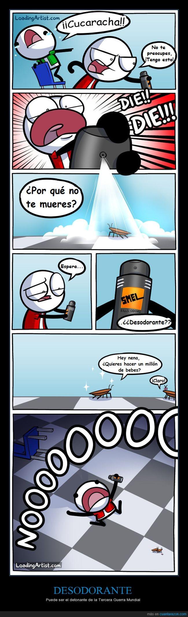 Cucaracha,Desodorante