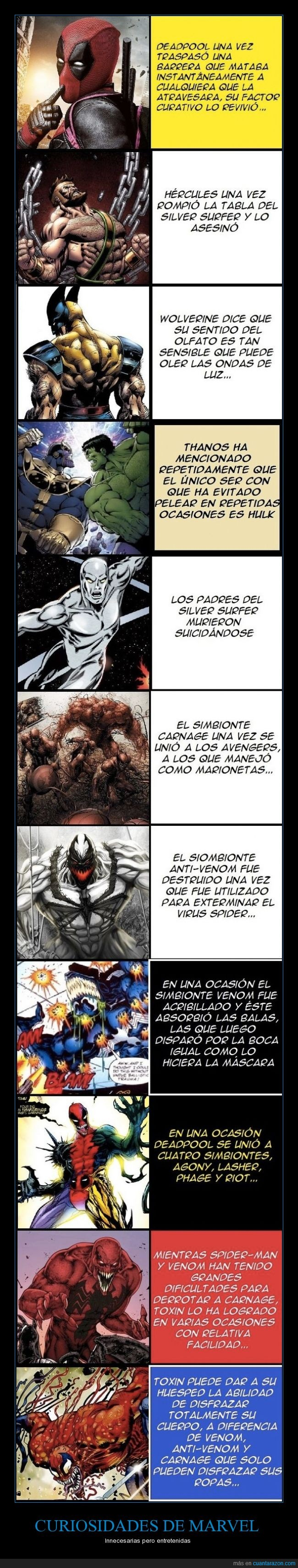 curiosidades,marvel,spiderman,venom,wolverine