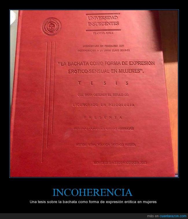 bachata,psicología,tesis