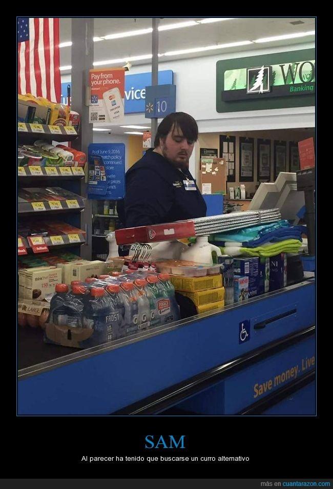 cajero,juego de tronos,parecido razonable,same,supermercado