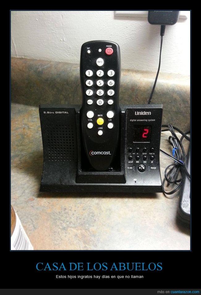 confusión,control remoto,mando a distancia,telefono