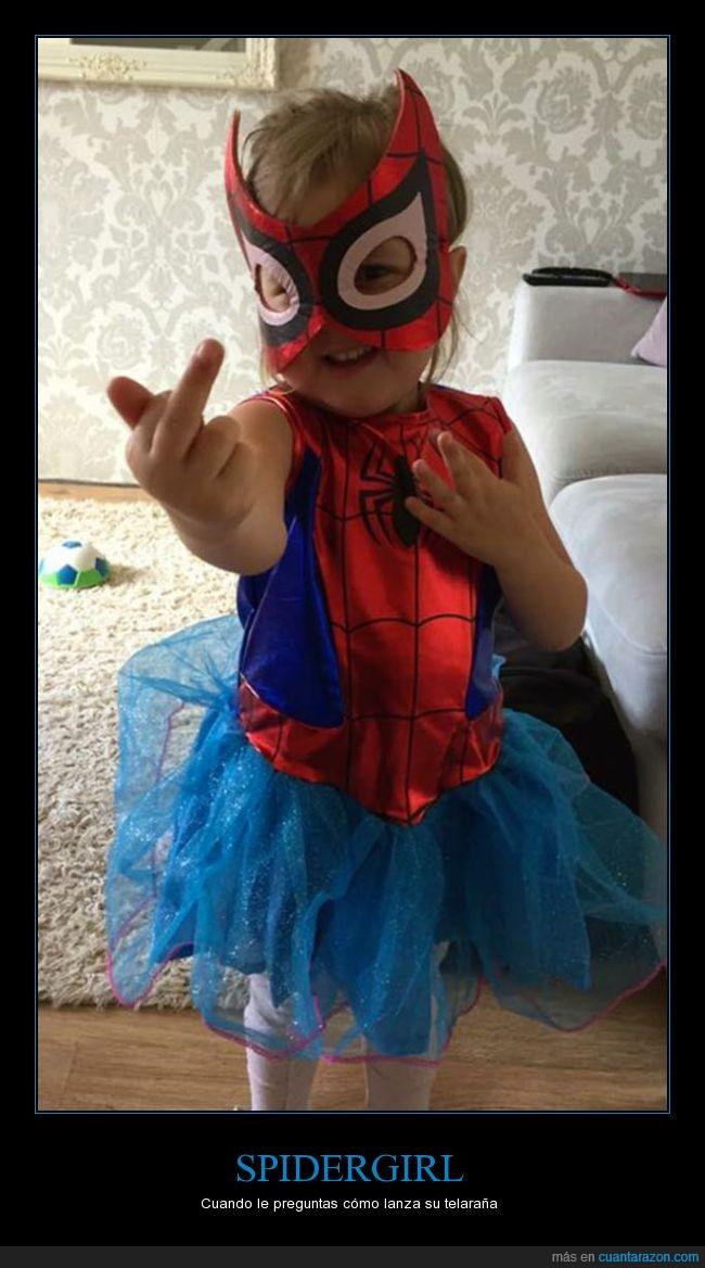 peineta,spidergirl,telaraña