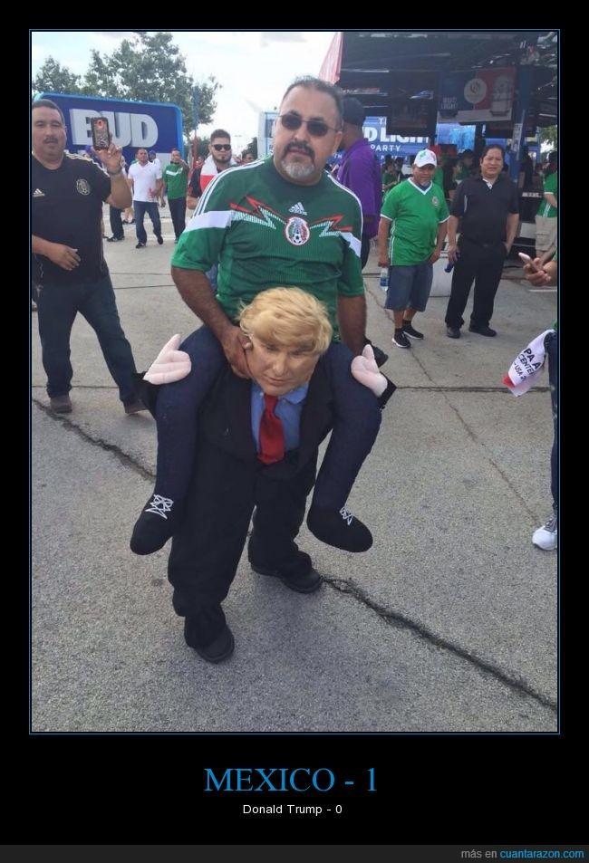 disfraz,donald trump,México