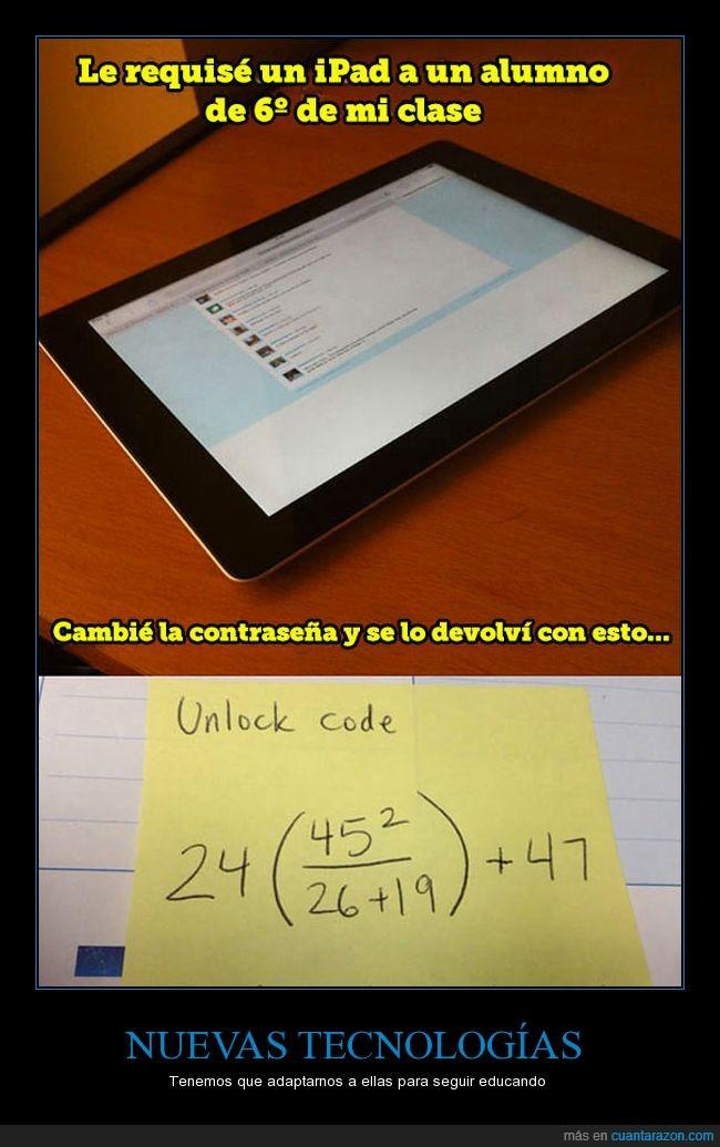 calcular,educación,ipad,matemáticas,nota,operación