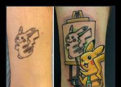 Enlace a 10 ideas geniales para tapar ese tatuaje que odias tanto