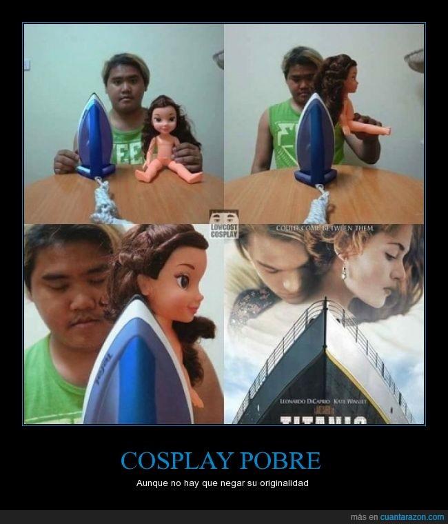 cosplay,leonardo di caprio,pobre,titanic