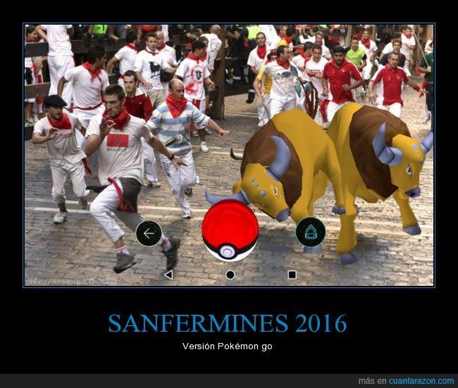 pokémon,sanfermines