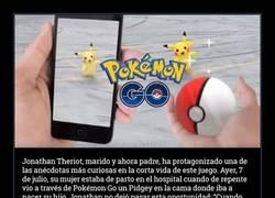 Enlace a Captura un Pidgey en Pokémon Go mientras su mujer está de parto